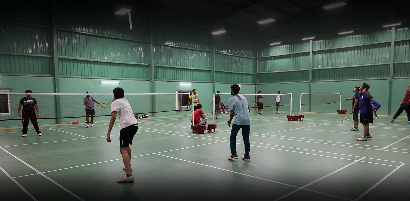 Wide array of Fitness, Games & Sports facilities